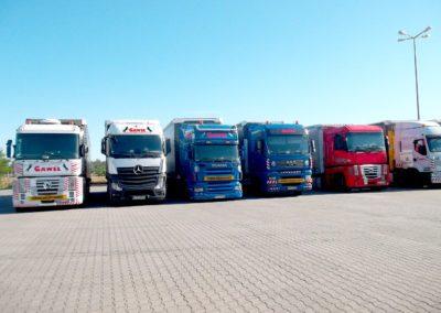 transport przyczep z Anglii i Holandii