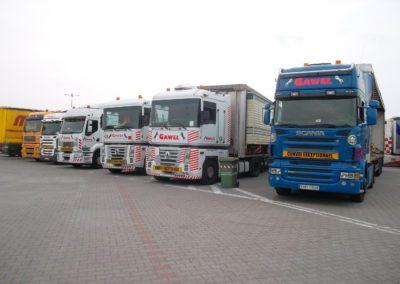 transport domków