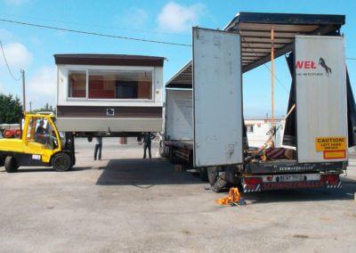 usługi transportowe ładunków wielogabarytowych