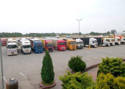transport domków oraz przyczep z Anglii i Holandii